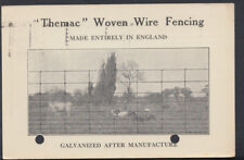 "Advertising Postcard- ""Themac"" Woven Wire Fencing,Metal Agencies Co,Bristol T403"