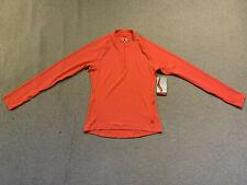 Saucony Primo ladies long sleeve 1/4 zip running top | pink | medium | brand new