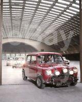 The Italian Job (1969) Car Scene Mini Cooper   10x8 Photo