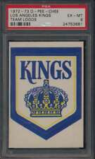 1972 O-Pee-Chee Team Logos #NNO Los Angeles Kings   PSA 6  EXMT 42056