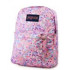 JANSPORT Superbreak Backpack - Pink Sparkle Dot Schoolbag JS00T5014Z8