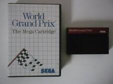 WORLD GRAND PRIX - SEGA MASTER SYSTEM