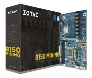 ZOTAC B150 Mining ATX Motherboard for Crypto Mining x8 GPU Motherboard