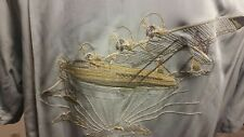 Tori Richard CLipper Plane Silk Blend Embroidered Shirt S NWT