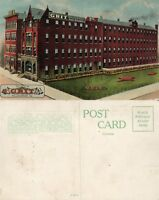 WILLIAMSPORT PA GRIT NEWSPAPER BUILDING ANTIQUE POSTCARD
