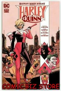 BATMAN WHITE KNIGHT PRESENTS HARLEY QUINN #1 (2020) 1ST PRINT MURPHY MAIN COVER