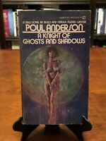 A KNIGHT OF GHOSTS AND SHADOWS by Poul Anderson (1ST EDITION - 1ST PRINT) 1975