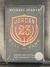 Michael Jordan 2009 Upper Deck Hall of Fame Game-Used Floor & Card Sealed Box JD