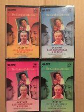 Golden Collection Duets V1-4 Lata Mangeshkar Mukesh- RPG HMV Bollywood Cassette
