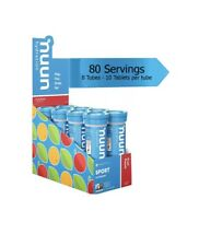 nuun Sport Electrolyte Tablets Fruit Punch 80 Servings