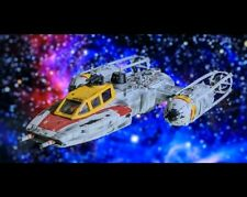 Star Wars Y-wing fighter Red Jammer Custom