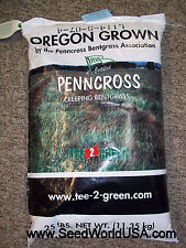 Penncross Bentgrass Seeds 5 Lbs ( Bulk -Coated) Fast Secure Shipping