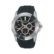 SQNP SNT027P2 Seiko Gents Sports Rubber Strap Calendar Watch