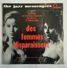 the jazz messengers  des femmes disparaissent rare 25cm vinyl 33t jazz
