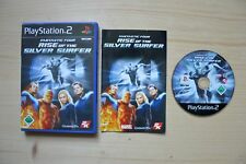 Ps2-Fantastic Four: Rise of the Silver Surfer - (OVP, con instrucciones)