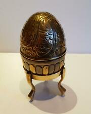Large Decorative Egg On Stand