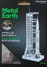 Apollo Saturn V Metal Earth 3D Laser Cut Metal Model Kit Rocket Space MMS167