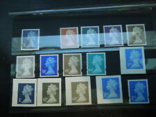 S630    GREAT  BRITAIN     DEFINITIVES    MNH  2  SCANS