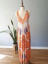 Lushousn Women's Maxi Dress With Lace Straps Size 12