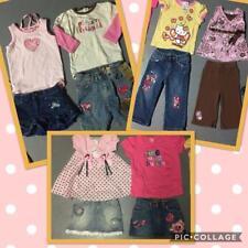 HUGE LOT GIRLS CLOTHES 12pc SETS TOPS BOTTOMS SKIRTS DENIM SIZE 24 months 2t 4t