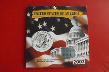 *USA  Quarter Dollar Set 2002  / 5 Münzen in Blister *
