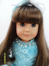 Pleasant Co./American Girl Doll Golden Brown Hair Blue Eyes + Outfits