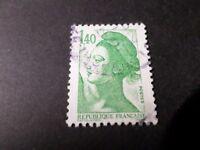 FRANCE 1982, timbre 2186, LIBERTE', oblitéré, VF STAMP