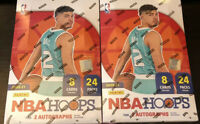 2020-21 NBA HOOPS HOBBY 2 BOX BREAK *RANDOM TEAM*