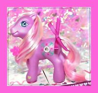 ❤️My Little Pony G3 2004 Juniper Jade Purple Jewel Pony Friendship Ball❤️