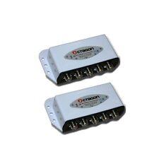 2x DiseqC Schalter 4/1 Octagon Digital 4 Satelliten SAT Umschalter FullHD 3D