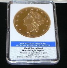 Special American Mint 24k Gold Layered Decorative Collectible (Retail: $89.95)