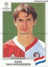 N°090 VAN WONDEREN FEYENOORD UEFA CHAMPIONS LEAGUE 1999/2000 STICKER PANINI
