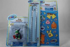 Webkinz Set of 3 'Frog Sorcerer Figurine+Necklace+Stickers' All NEW!