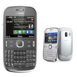 Nokia Asha 302 White 100% ORIGINAL UNLOCKED Cellular Phone Warranty 3G 3020 Rare
