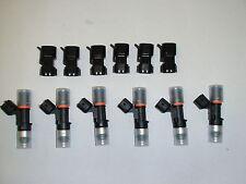 6 NEW Bosch EV14 52lb 550cc fuel injectors for Nissan 350Z 370Z Maxima G35 G37
