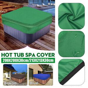 spa cover cap 218cmx218cmx30cm hot tub cover guard