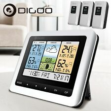 Digoo DG-TH8888Pro Wireless Weather Station Hygrometer+3 Outdoor Forecast Sensor