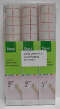 "3 PACKAGES CRICUT PROVO CRAFT VINYL TRANSFER TAPE ROLL (12 SHEETS 12"" x 24"") NEW"