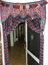 Antique Kurdish Nomadic Caucasian Tent Door Kilim Rug* Handmade-3ft x 7 ft Rare
