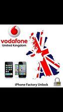 Vodafone UK iPhone Unlock Service4,4s,5,5s,6,6+,6s,6s+,7,7+(See description )