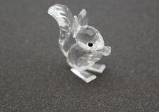 Swarovski Crystal Retired Long Ear SquIrrel 7662 Nr 42- no box