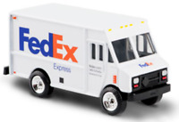 FedEx Express DieCast Metal Step Van Delivery Truck Scale 1:64 - 3 Length