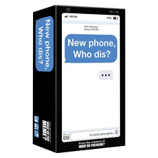 New Phone Who Dis? Card Game Party Game