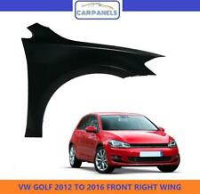 VW GOLF MK7 FRONT WING 2012 - 2016 RIGHT DRIVERS SIDE PRIMED NEW