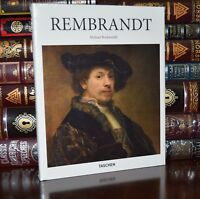 Rembrandt Renaissance Art Paintings New Sealed Deluxe Hardcover Edition