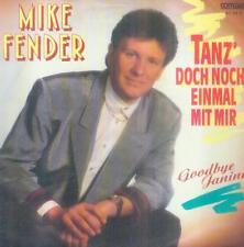 """7"""" Mike Fender/danse 'une fois encore avec moi"""