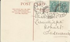 HH4058 Gorey+ Courtdown Harbour Eire cds Nov 1904 postcard Tasmania  Australia