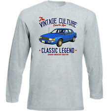 Vintage American Car Plymouth Acclaim - New Cotton T-Shirt