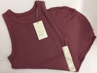 NWT NEW Women's Tank Top - A New Day Light Maroon Ladies Size Medium