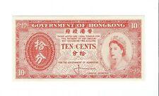 Hong Kong - Ten (10) Cents, 1961-65